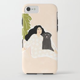 Best friendship story iPhone Case
