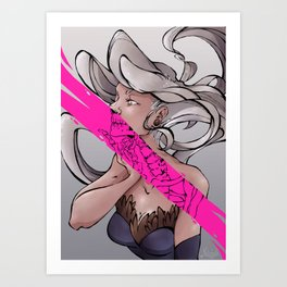 Coupure / #1 Art Print