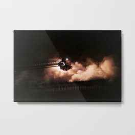 Fighting the fire Metal Print