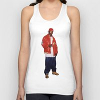 2pac Tank Tops featuring Big L  by Gold Blood