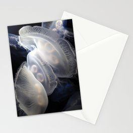 When Moons Collide Stationery Cards