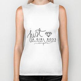 Girl Boss Empire Gold Biker Tank