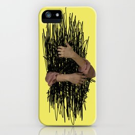 embrace chaos iPhone Case