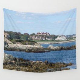 Newport Cliff Walk - Newport Rhode Island by Jeanpaul Ferro Wall Tapestry