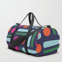 Scandinavian Nordic colourful Printed Leggings Duffle Bag