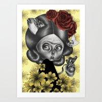"""Petite Fridoca"" #3 Art Print"