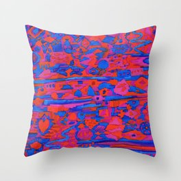 Taos Twilight Throw Pillow