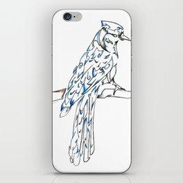 Blue Jay iPhone Skin