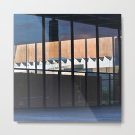 Neue Nationalgalerie - Mies van der Rohe Metal Print