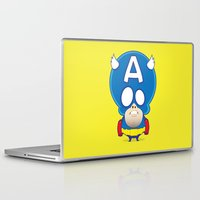 captain Laptop & iPad Skins featuring Captain by John O'Connor