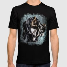 a cubistic me Mens Fitted Tee MEDIUM Black