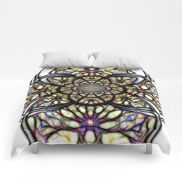 The Art Of Stain Glass Comforters
