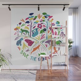 Save the Rainforest Wall Mural