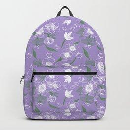 Floral Pattern #01B Backpack
