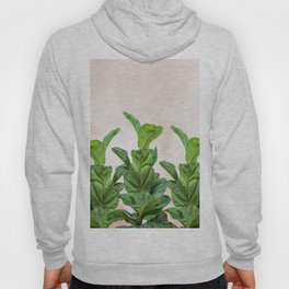 Dreaming candy with green rubber trees Hoody