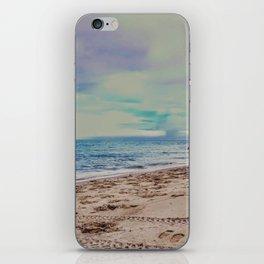 Pastel Beach iPhone Skin