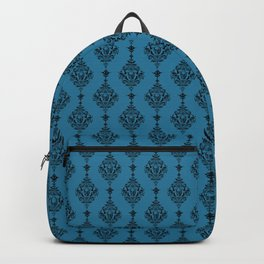 Skulls and Bats and Damask, Oh My! Backpack