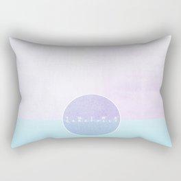 think carefully Rectangular Pillow