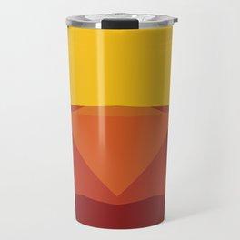 Geometric Afternoon Print Travel Mug