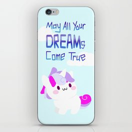 unicorn - may all your DREAMs come true iPhone Skin