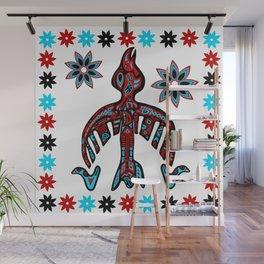 The Raven -Tlingit inspired Wall Mural
