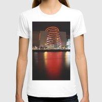 dublin T-shirts featuring Dublin Convention Centre by Ciaran Mcg