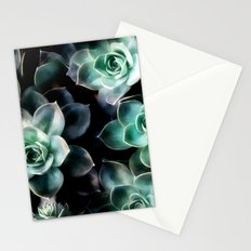 Succulent PATTERN IV Stationery Cards