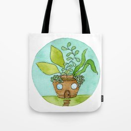 In The Garden: March Tote Bag