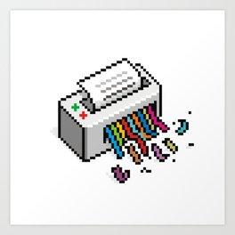 Input Output Art Print