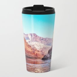 Floating the Colorado River Metal Travel Mug