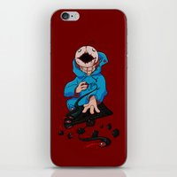 cryaotic iPhone & iPod Skins featuring Mad!Cryaotic by Thais Magnta Canha