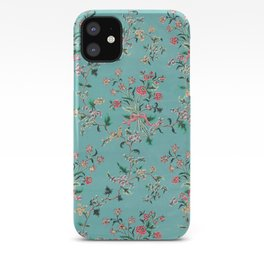 Length of painted silk mid-18th century Chinese iPhone Case