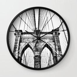 Brooklyn Bridge x Wall Clock