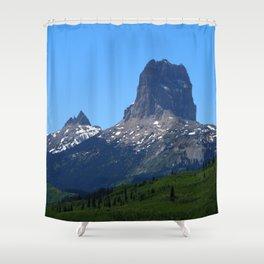 Chief Mountain Shower Curtain