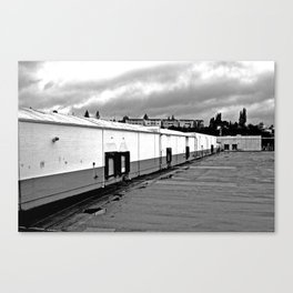 Vacant Nalley building Canvas Print