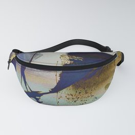 abstract marine Fanny Pack
