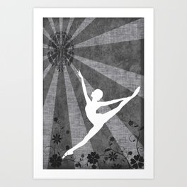 Ballet Series 3 Art Print