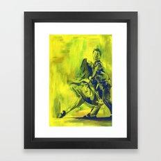 Swing Dancing! Framed Art Print