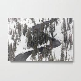 Yellowstone National Park - Lewis River 2 Metal Print