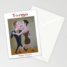 El Beso Tango by Diego Manuel Stationery Cards