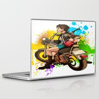 silent hill Laptop & iPad Skins featuring Silent by Don Kuing