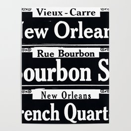 NEW ORLEANS FRENCH QUARTERS Poster