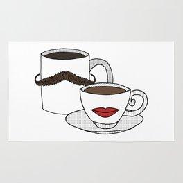 The Caffeinated Couple Rug