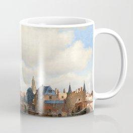 "Johannes Vermeer ""View of Delft"" Coffee Mug"