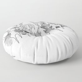 Lurkers Floor Pillow