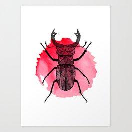 KHK Beetle Art Print