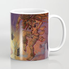 Shaman psychopomp ceremony with buffalo spirit Coffee Mug