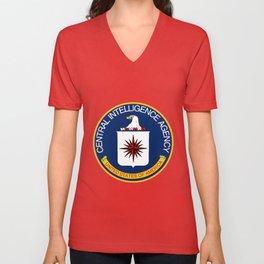 CIA Logo Unisex V-Neck