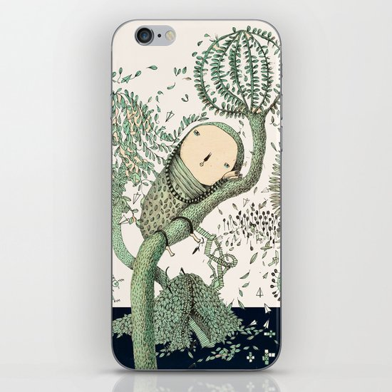 My Green Memory iPhone Skin