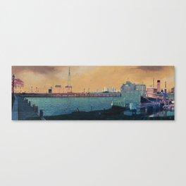 Broadway City Pier, Baltimore, MD Canvas Print